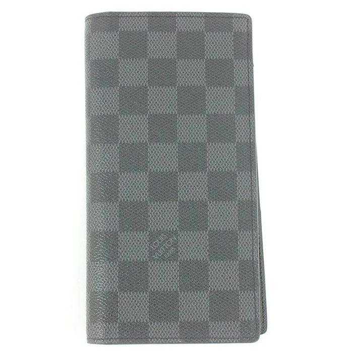 ルイヴィトン LOUISVUITTON N62227/ポルトフォイユ・ロン ダミエグラフィット財布