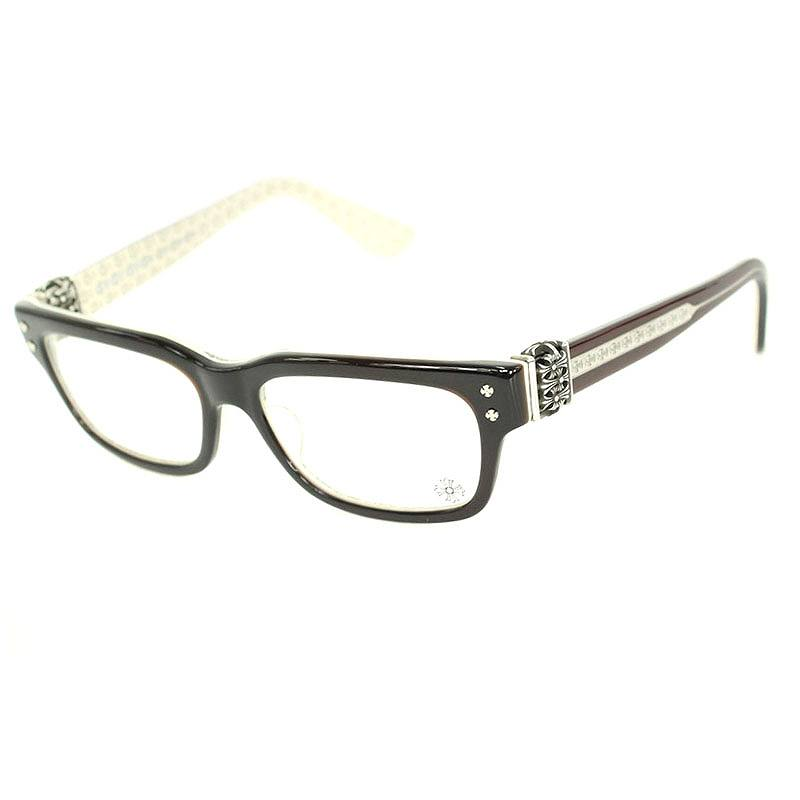 クロムハーツ Chrome Hearts HEY JACK U LATE-A サイドセメタリークロスウェリントンフレーム眼鏡