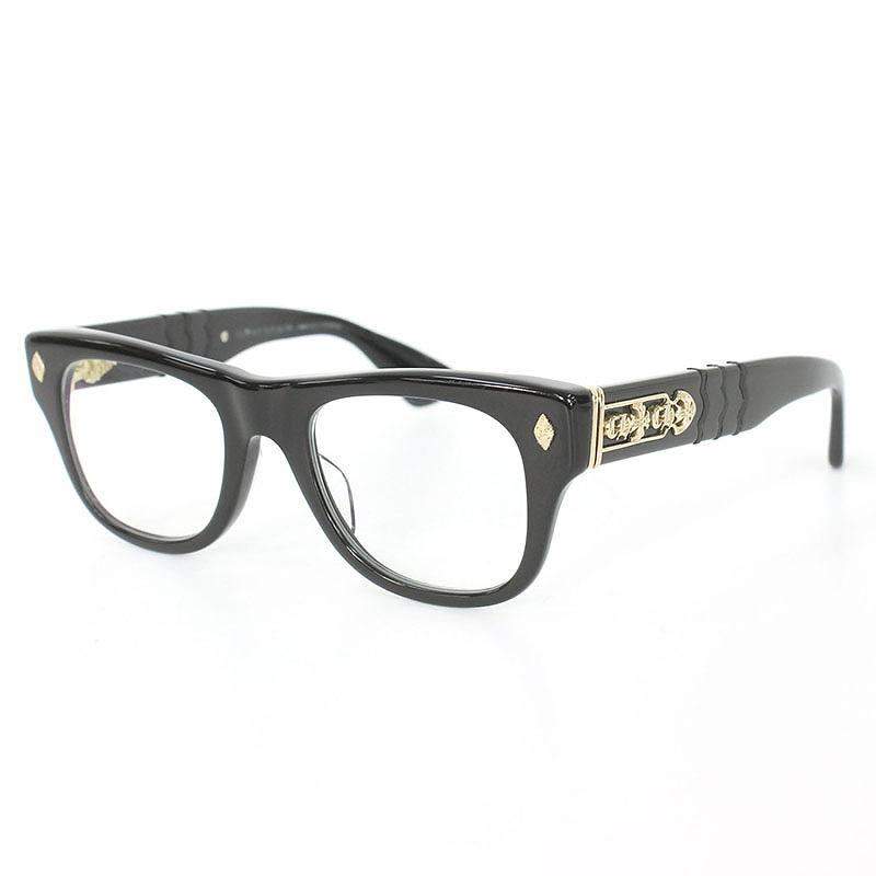 クロムハーツ Chrome Hearts INSTAGASM サイドCHクロスゴールドコーティング眼鏡