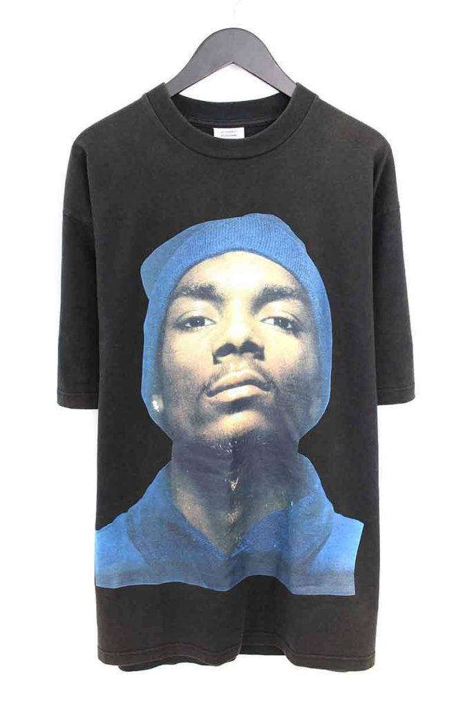 ヴェトモン VETEMENTS Snoop Dogg スヌープドッグプリントTシャツ