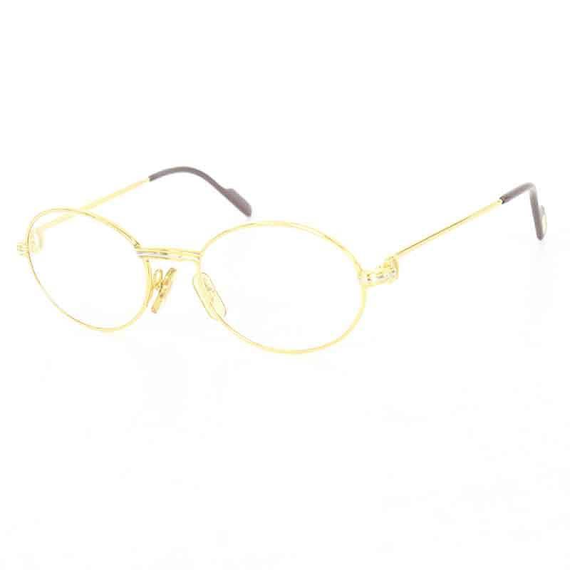 カルティエ Cartier 135 ゴールドフレームサングラス