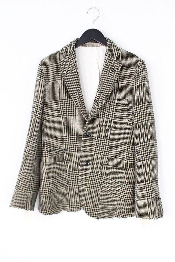 タカヒロミヤシタザソロイスト TAKAHIROMIYASHITATheSoloIst. sg.0007g/sports jacket グレンチェック2Bジャケット