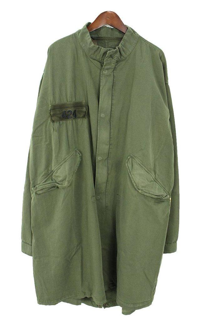 フォートゥーフォー 424 × アルファ ALPHA Military Mods Coat バックプリントミリタリーモッズコート