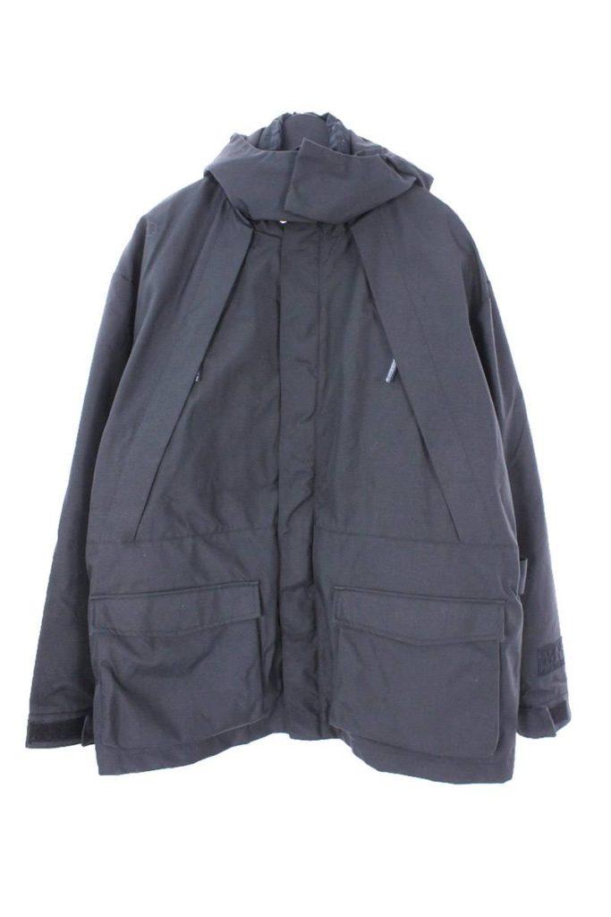 マーティンローズ MARTINE ROSE × ナパピリ NAPAPIJRI 中綿入りベスト付オーバーサイズジャケット