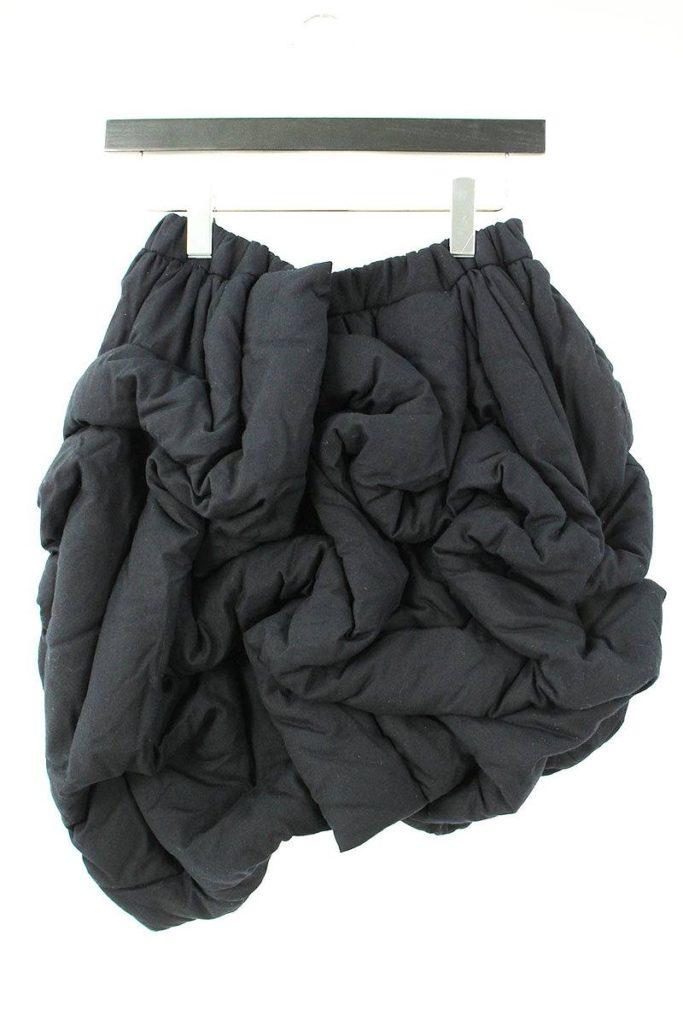 コムデギャルソン COMME des GARCONS GF-P028 AD2010中綿入りシャーリングハーフパンツ