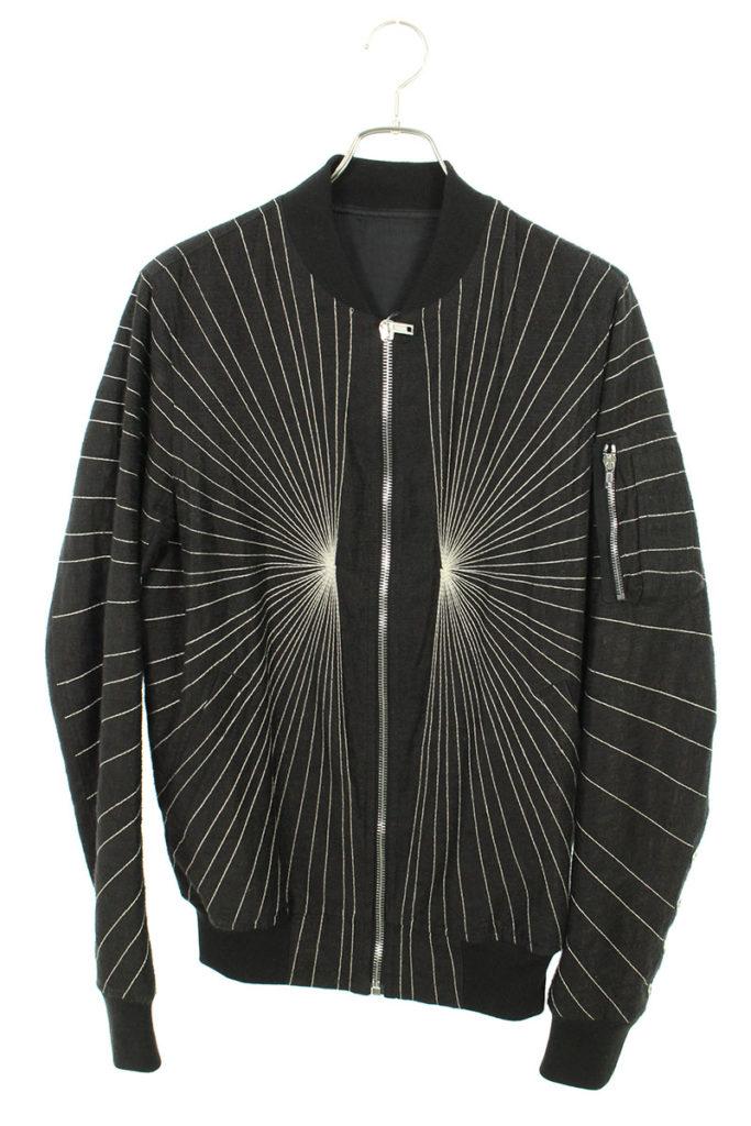 リックオウエンス Rick Owens RU17S9791-KEMR ステッチデザインジャケット