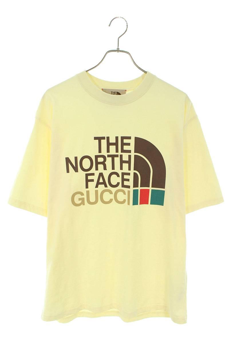×THENORTHFACEロゴプリントTシャツ