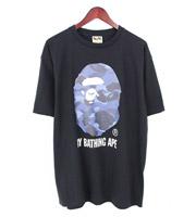 カラーカモ バイ ベイシングエイプTシャツ