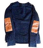 エルボーパッチセーター