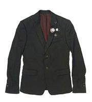 11SSピアスデザインジャケット