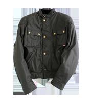 ×BMW ワックスコットンライダースジャケット