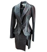 レザージャケットスーツ