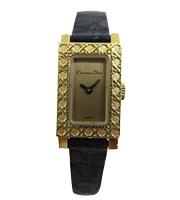 ミニパリジェンヌ K18クオーツ腕時計