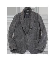 ウール縮絨テーラードジャケット