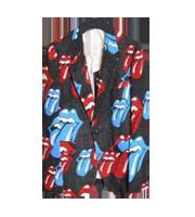 ×ローリングストーン 2006SS リップ&タン総柄テーラードジャケット