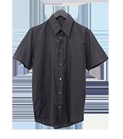 プレーンレーヨン半袖シャツ