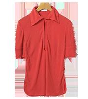 カラー半袖ポロシャツ
