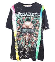グラフィック バンドTシャツ