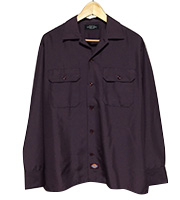 x UNUSED シルクワークシャツ