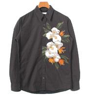 14SS 花柄プリント長袖シャツ
