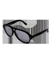 ×マックナイト ティアドロップサングラス