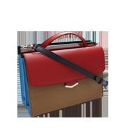 デミジュール マルチカラー2WAYハンドバッグ