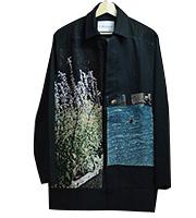 16ss ゴブラン織り グラフィックジャケット