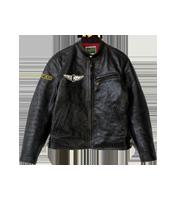 2013SS ホースハイド シングルライダースジャケット