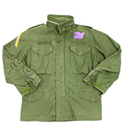 POWER TO THE PEPPLE M-65ジャケット