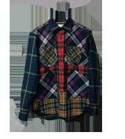 13AW クレイジーチェックシャツ