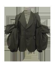 袖変形ジャケット