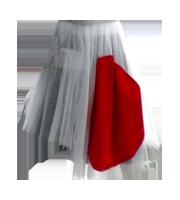 07SS 日の丸スカート