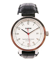 レザーバンド腕時計