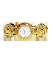 メデューサコインモチーフ腕時計