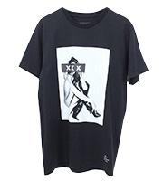 16SS ガールプリントTシャツ
