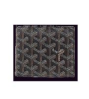 ロゴ総柄二つ折り財布