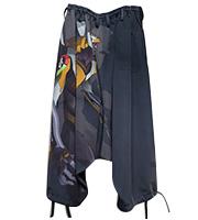x エヴァンゲリオン コラボ袴パンツ
