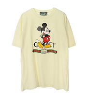 ミッキープリント Tシャツ