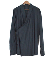 ノーボタン 羽織シャツジャケット