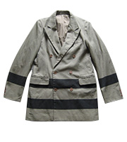1990年代ラインデザイン ダブルプレストジャケット