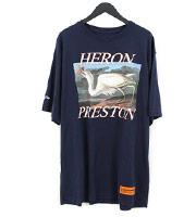 【18SS】JERSEY T-SHIRT バードロゴ鶴プリントTシャツ