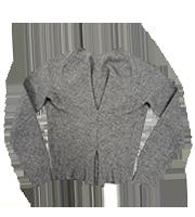 13AW 変形ニットセーター