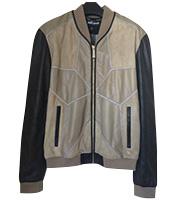 レザーMA-1 ボンバージャケット