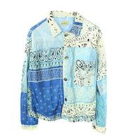 19SS ペイズリーバンダナ シャツジャケット