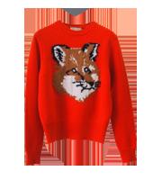 FOX HEADニット