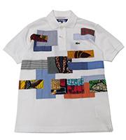 x ジュンヤワタナベ 16SS パッチワークポロシャツ