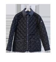 ×ファクトタム キルティングジャケット