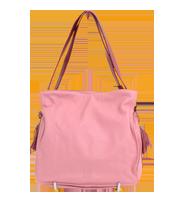 【フラメンコ30】レザー巾着バッグ