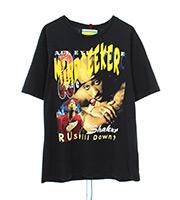 ヴィンテージライン トゥパックプリントTシャツ
