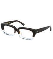 ウェリントン型 セルロイドメガネ